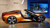 BMW i8 Vision Future Interaction concept at CES 2016