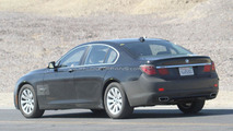 2012 BMW 7 Series facelift spied 25.07.2011