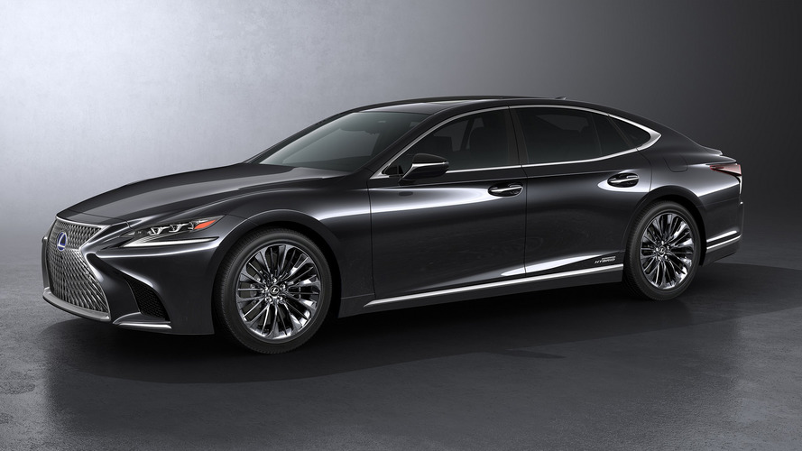 Technical details revealed for Lexus LS 500h