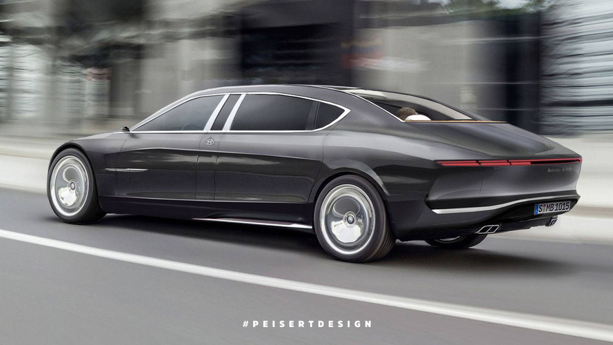 2020 Mercedes-Maybach 850 Landaulet rendering redefines luxury