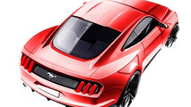 2015 Ford Mustang Design mock up