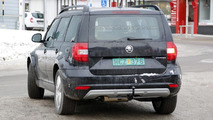 2016 Skoda Snowman chassis testing mule spy photo