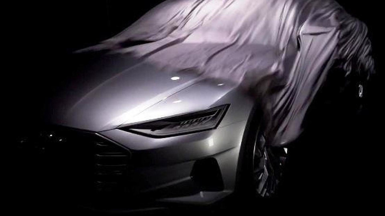 Audi A9 teaser image
