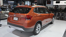 2013 BMW X1 facelift live in New York 04.04.2012