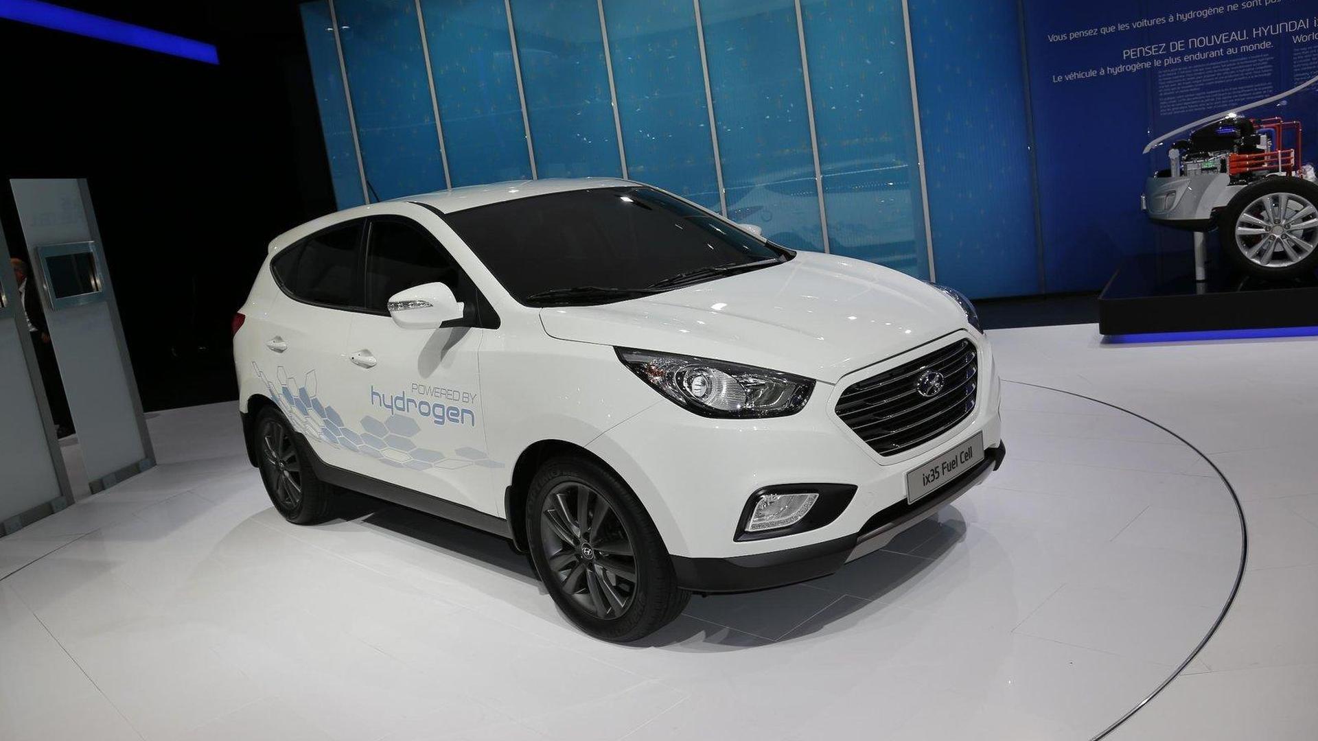 Hyundai ix35 Fuel Cell will go into production