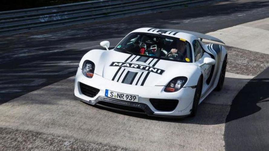 Porsche 918 Spyder will weigh 1,700 kg, new details available