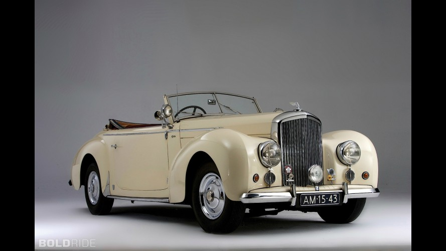 Bentley Mark VI Drophead Coupe
