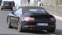 2012 Porsche 911 Cabrio spied undisguised