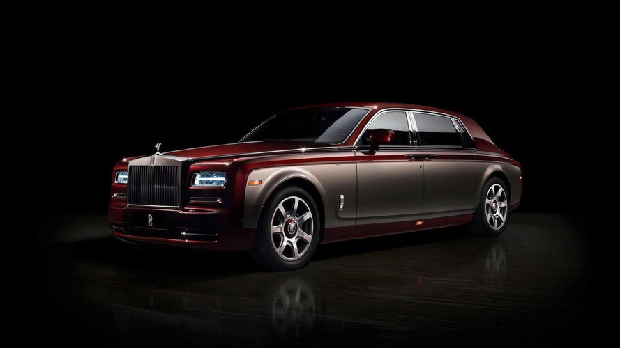 Rolls-Royce Pinnacle Travel Phantom unveiled for Auto China