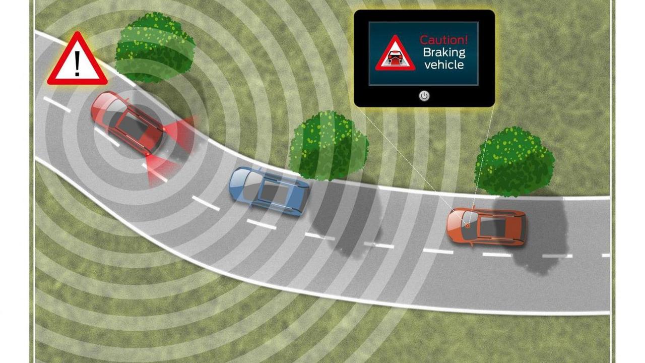 Ford Electronic Brake Light technology 21.6.2013