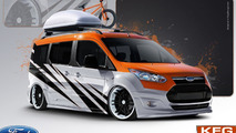 Strange Motion Ford Transit Connect for SEMA 25.10.2013