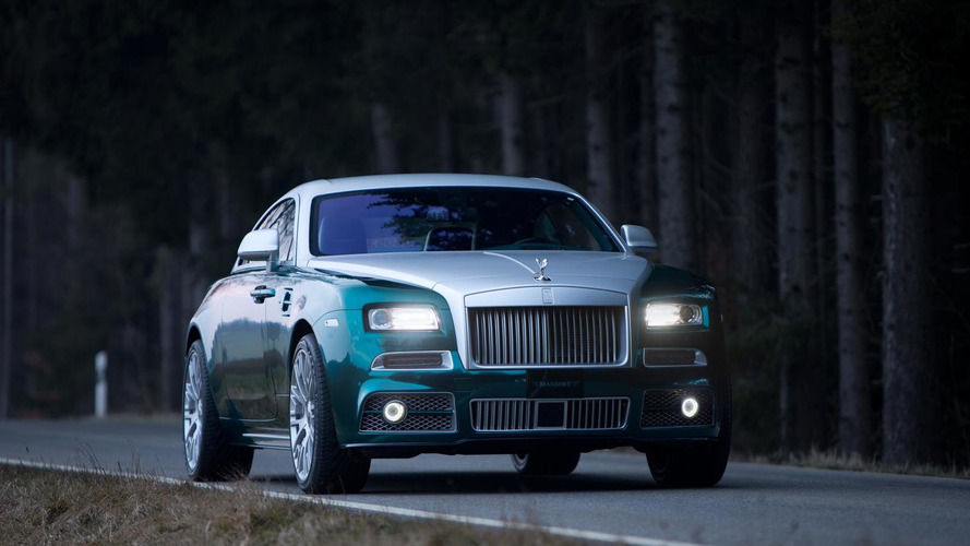 740 HP Rolls-Royce Wraith by Mansory debuting in Geneva