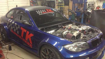 800 bhp BMW 1-Series from Sweden 11.10.2013