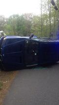Flipped BMW X5