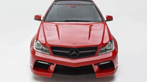 Misha Designs introduces a Black Series-inspired body kit for the Mercedes C-Class