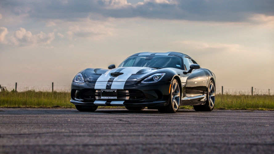 Hennessey supercharges Dodge Viper to more than 800 HP