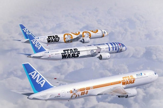 Check out These Amazing Star Wars-Themed Planes and Trains