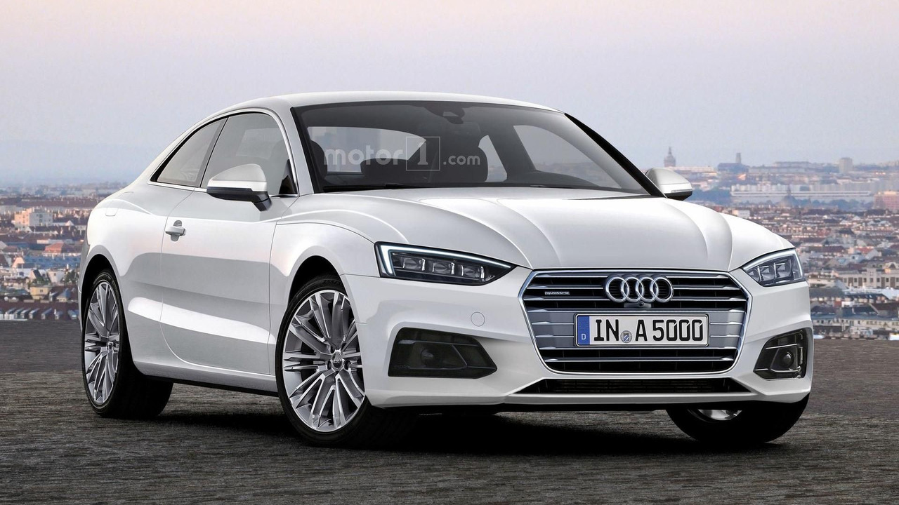 Audi A5 Coupe rendering