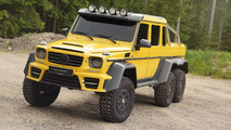 Mansory makes the Mercedes-Benz G63 AMG 6x6 even more opulent