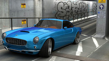 Modern Day Volvo P1800 Rendered & Speculated