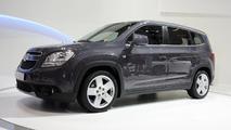 Chevrolet unveils four models in Paris