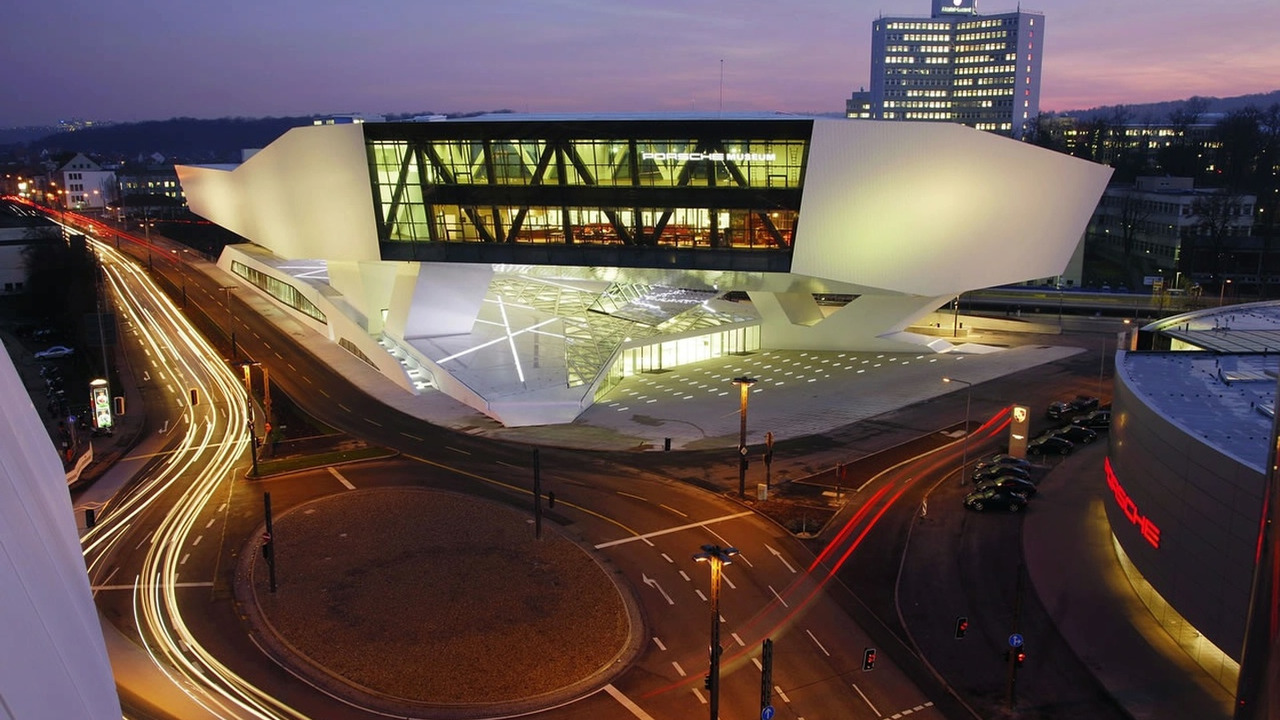 The new Porsche-Museum will be opened on 31 January 2009
