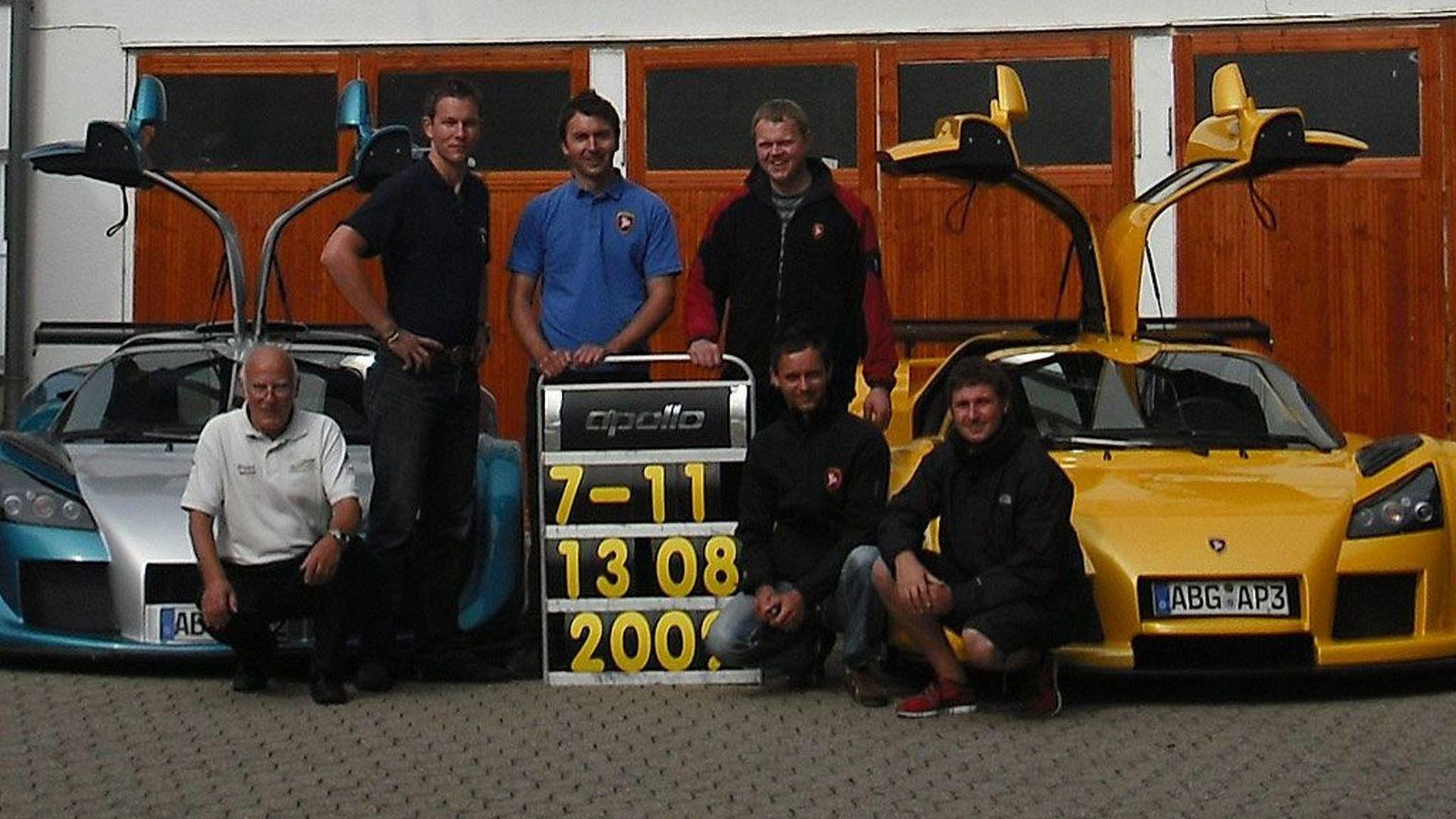Gumpert Apollo Sport sets Nurburgring lap record