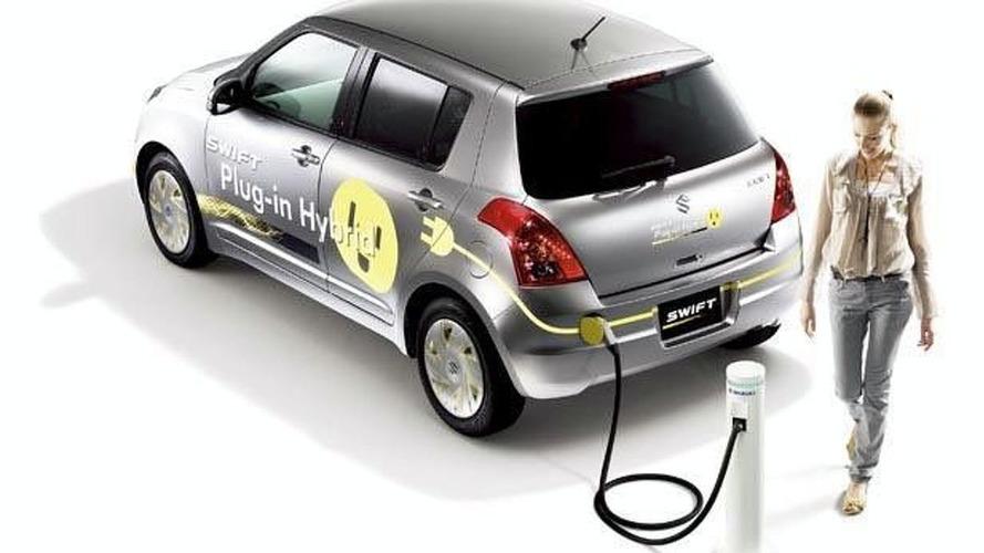 Suzuki Swift Plug-in Hybrid Concept Announced for Tokyo Debut