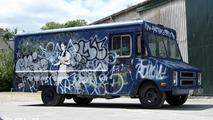 SWAT Van by Banksy