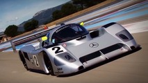 Watch the Group C Mercedes C291 return to the track after 25 years