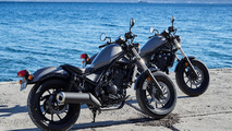 Honda Rebel 300 and Rebel 500