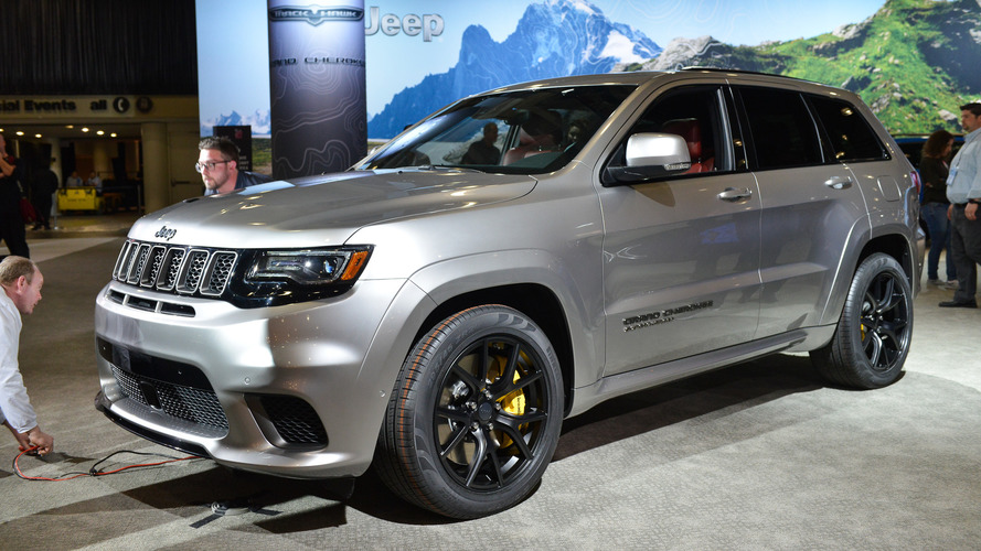 Lifted Jeep Srt8 >> 2018 Jeep Grand Cherokee Trackhawk - New York 2017 photo