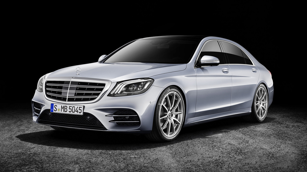 2018 mercedes s class facelift can you spot the changes. Black Bedroom Furniture Sets. Home Design Ideas