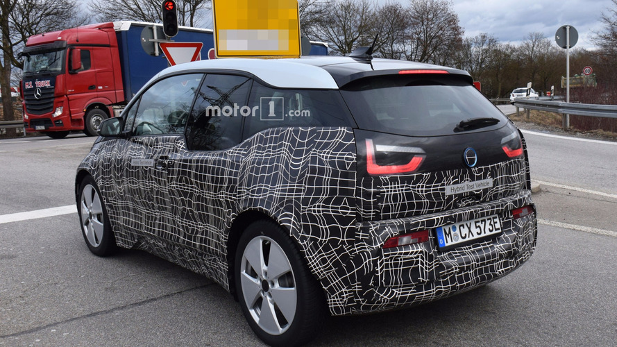 2018 BMW i3 facelift spy photo