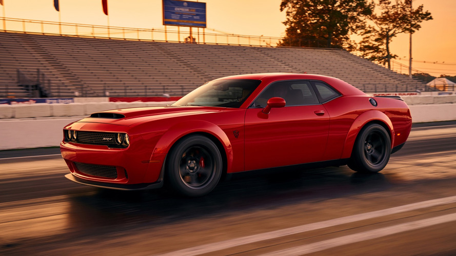 Leaked Dodge Challenger SRT Demon Image Surfaces Online