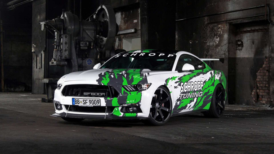Schropp Tuning offre 819 chevaux à la Ford Mustang !