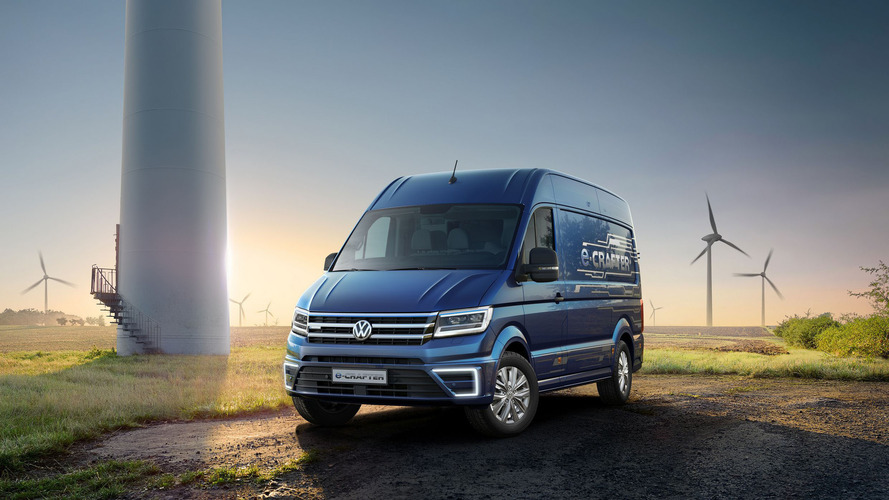 VW Crafter electric production model to be called E-Transporter?
