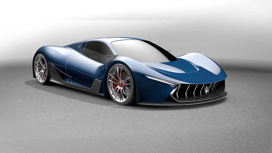 Designer envisions Maserati MC-63 hypercar based on LaFerrari