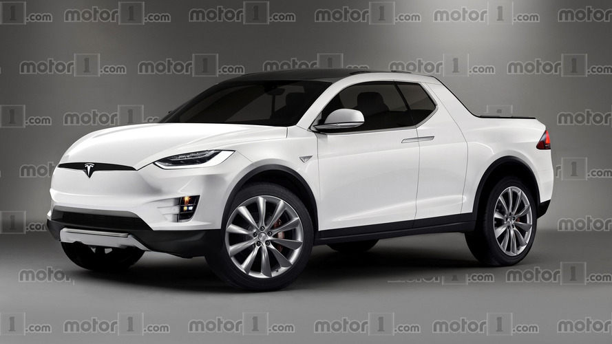 Tesla's 'new kind of pickup truck' could look like this