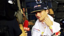Max Verstappen, Red Bull Racing on the grid