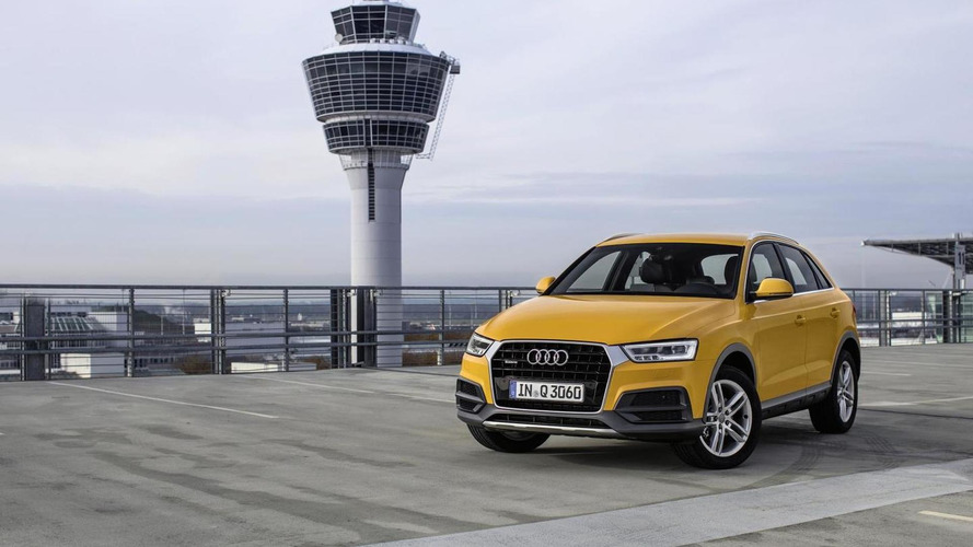 Audi Q3 facelift detailed in 46 new photos