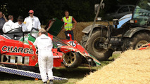 Mazda 767B crashed at Goodwood Festival of Speed