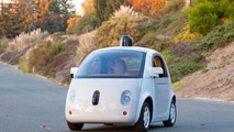 Google self-driving car in production form