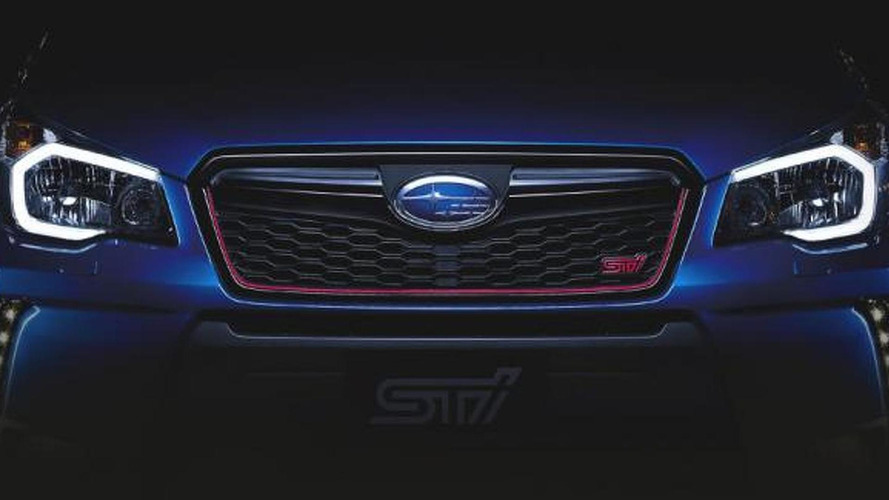 Subaru Forester STi teased ahead of November 25 reveal