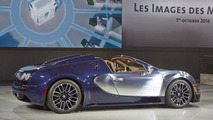Bugatti Veyron Grand Sport Vitesse Ettore Bugatti special edition at Volkswagen's Paris Motor Show preview evening