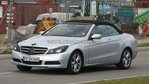 2010 Mercedes E-Class Cabrio spy photo