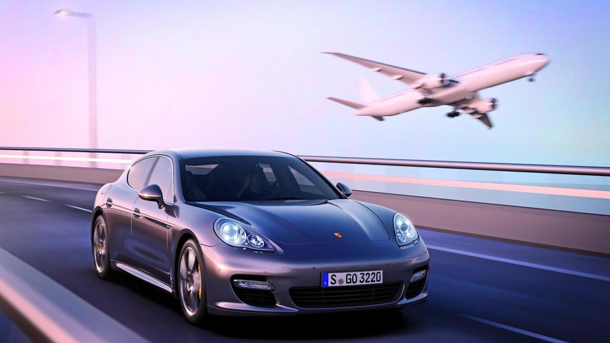 Porsche Panamera Turbo sets record lap time at the Shanghai F1 Circuit [video]