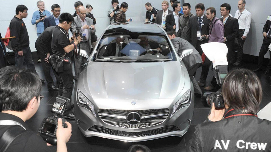 Mercedes A-Class live pics: 350 hp AMG version in the works?