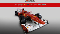 Ferrari F10 Revealed - Fisichella to stay reserve driver [Video]
