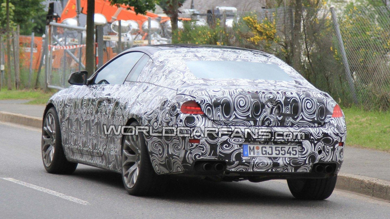 2012 BMW F12 M6 first spy photos 21.06.2010